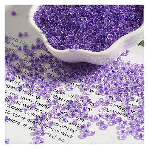 Producción de bricolaje 2 3 4 mm 150-1000pcs Color de mezcla Pequeñas cuentas de semillas de cristal de cristal checo sueltas Perlas espaciadoras sueltas para niños DIY Joyería haciendo accesorios par