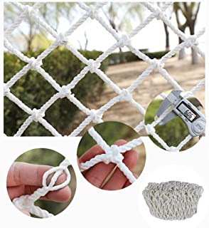 HWJ Children Fall Protection Safety Net Building safety net  decorative net shatter-resistant net climbing rope woven rope truck trailer net children s toys pet safety indoor railing stair safety