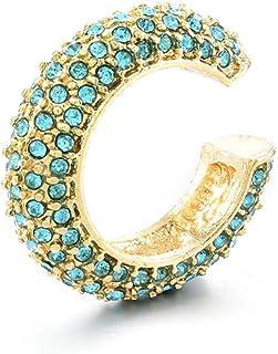 OETY Earrings For Women 6 Color C Shape Studs Earrings Fashion Women Jewelry Accesories for girls Studs Earrings