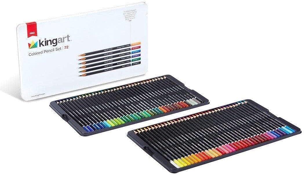 KingArt Branded goods PRO Soft Core Dedication Collection Pencil of 72 Unique Set C