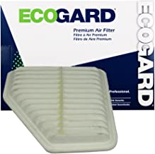 ECOGARD XA5650 Premium Engine Air Filter Fits Toyota RAV4, Avalon / Lexus ES350 / Toyota Corolla, Camry / Scion xB / Toyota Venza / Scion tC / Pontiac Vibe / Toyota Matrix
