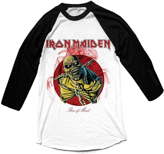 Iron Maiden - Camiseta de Manga Larga - Piece of Mind ...
