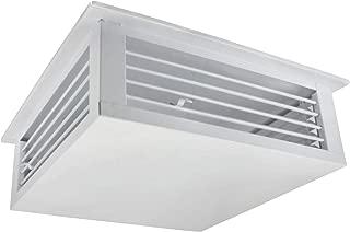 White Powder Coated 4-Way Adjustable Metal Diffuser for Evaporative/Swamp Cooler (18
