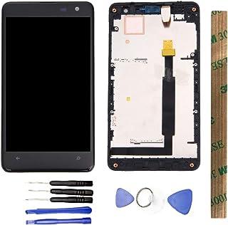 JayTong شاشة LCD واستبدال محول رقمي لشاشة تعمل باللمس مع أدوات مجانية لـلـ No kia Microsoft Lumia 625 N625 RM-941 RM-943 أ...