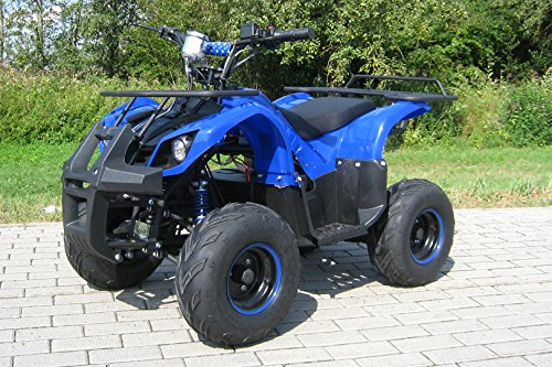 E-QUAD 1000 Watt blau Offroad ATV Kinderquad Kinder Elektro Quad