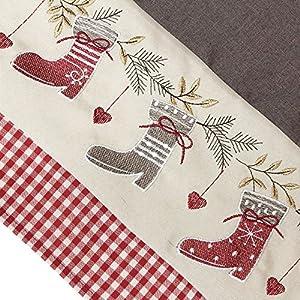 """Tischläufer """"Weihnachtsstiefel"""""""