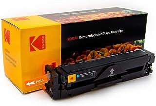 KODAK 201A CF401A Cyan Compatible Toner Catridge with HP printer