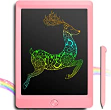 LCD Writing Tablet, Colorful 8.5 Inch Digital Ewriter Electronic Graphic Drawing Tablet Erasable Portable Doodle Writing Board for Kids Students Christmas Birthday Gifts (Pink)