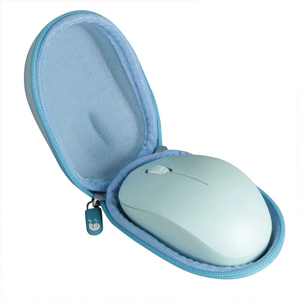 Hermitshell Travel Case for seenda Wireless Mouse 2.4G Noiseless Mouse(Only Case) (Green)