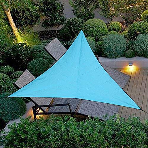 Sursflog Impermeable Sun Shelter Triángulo Parasol al aire libre Canopy Jardín Patio Piscina Sombras Toldo Camping Shade Tela Gran UV Bloque Canopy