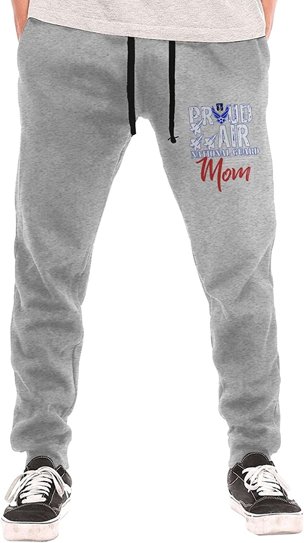 Superlatite Proud Air Cheap mail order shopping National Guard Mom Long Sweatpants Lightwe Men's