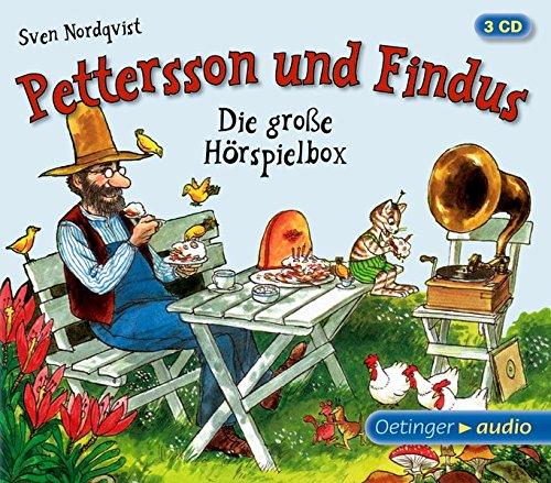 Pettersson und Findus. Die große Hörspielbox: Hörspiele, 80 Min.