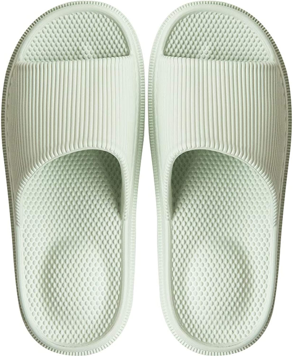 Xiao Jian Slippers Men's Massage Summer Home Furnishing Bathroom Bathing Non-Slip Outdoor Couples Women's Thick Foundation Slippers flip Flop (color   I, Size   35code)