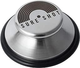 Sure Shot ORING アナログレコード用 EPアダプター・スタビライザー(ステンレス製)