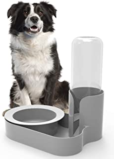 Bugout Pet Feeder - The Original Ant Proof Food Bowl & Automatic Water Station for Cats & Dogs - Because Your Pet Deserves The Best - Granite Grey - Made in USA