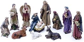 Hi-Line Gift Ltd 81891 4-Piece Christmas Nativity Scene Decor