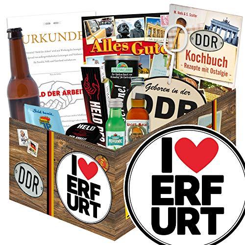 I love Erfurt - Geschenkidee Erfurt - Geschenk Mann DDR