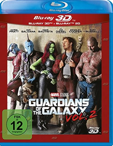 Guardianes De La Galaxia 2 (3D+2D) [Blu-ray]: Amazon.es: Chris ...