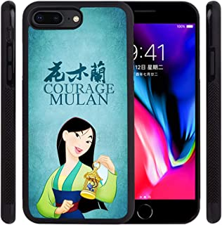 DISNEY COLLECTION Tire Phone Case Compatible with iPhone 7 Plus,iPhone 8 Plus(5.5 inch) Mulan Skid Shock Proof Protective Cover