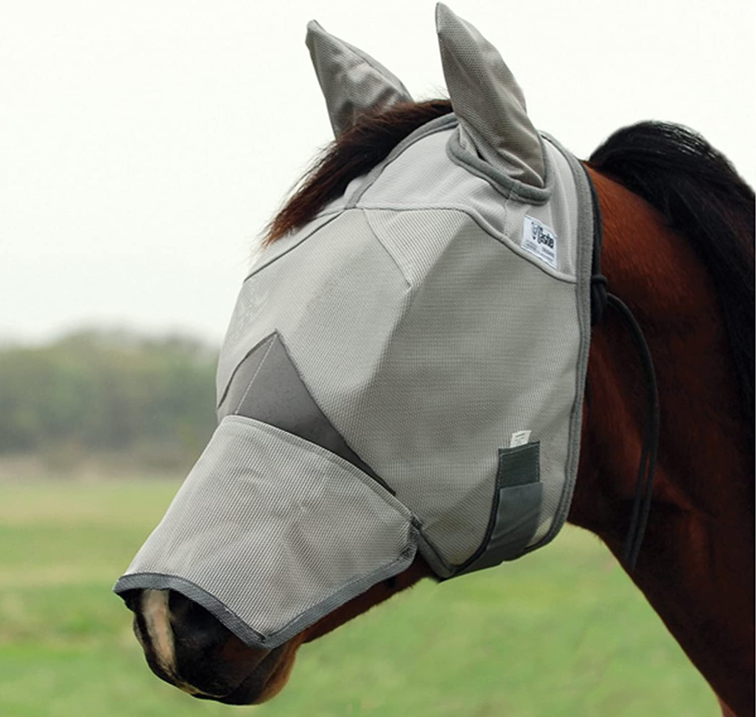 Cashel Crusader Long Nose Horse Fly Mask with ears [Misc.]