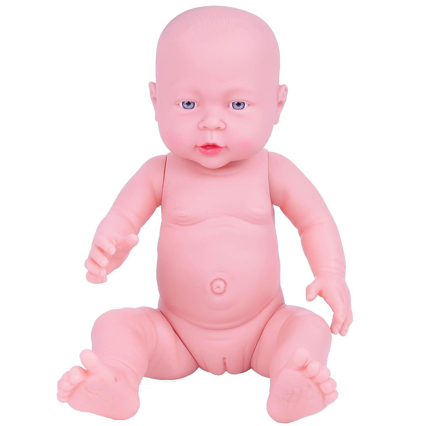 滝シャンプー無関心ベビー ケア トレーニング モデル 新生児 赤ちゃん 人形 41CM マネキン 模型 モデル 沐浴 の 練習 などに リアル な 医学 救急 育児 講座 授業 体験 産科 看護 助産 妊婦 乳児 教育