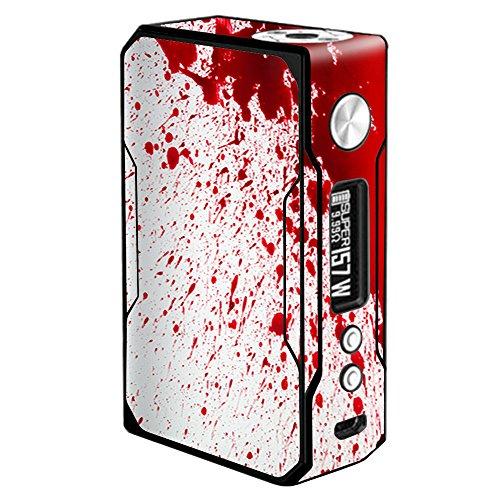 Skin Decal Vinyl Wrap VooPoo Drag 157W TC Vape Stickers Skins Cover/Blood Splatter Dexter