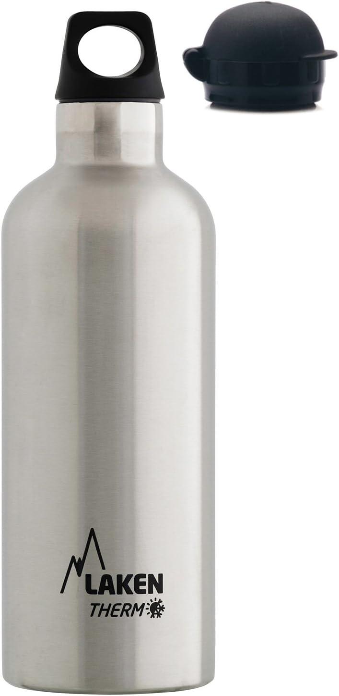 Laken Futura Botella Térmica de Acero Inoxidable 18/8 y Aislamiento de Vacío con Doble Pared. 350, 500 y 750 ml.