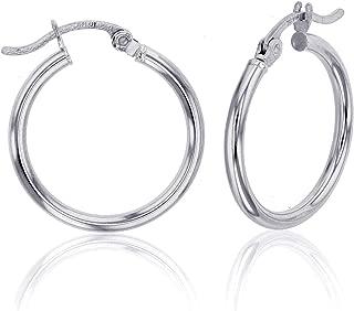 Best 10kt white gold hoop earrings Reviews