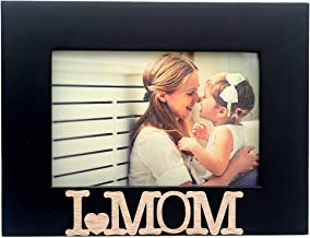 Cozzy Home Inc-I Love My Mom Picture Frame, 4x6, Black