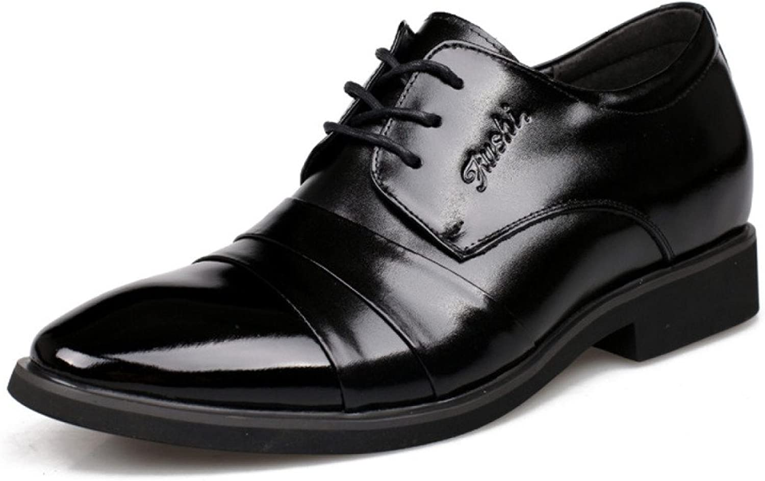 Men's shoes, Business, Formal Wear, Heightening shoes, 6cm, Leather shoes, Men's shoes