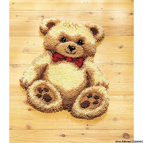 Vervaco Cuscino, Kit Crochet, Pooh, Multi-Colori
