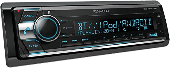 Kenwood Electronics KDC-X5200BT Bluetooth Negro Receptor Multimedia para Coche - Radio para Coche (Negro, 1 DIN, CD,CD-R,CD-RW, 20-20000 Hz, 105 dB, Giratorio)