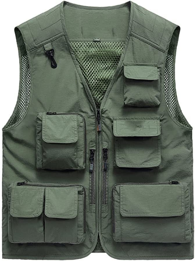 Fishing Vests for Ranking TOP2 Men Vest Photography Multi-Pocket Gorgeous