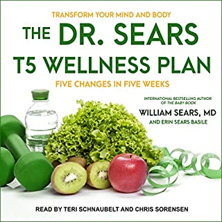 The Dr. Sears T5 Wellness Plan audiobook cover art