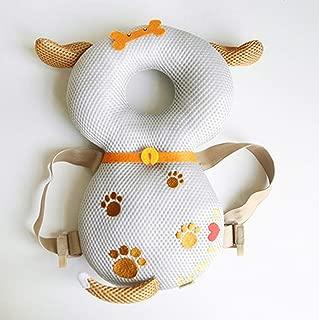 赤ちゃんのごっつん防止 頭を保護できる 肩紐自由調整 多機能保護 怪我防止 乳幼児用保護枕 あたま ガード 転倒防止 安全対策 メッシュ布通気性がよい 出産祝い ベビー用品 可愛い