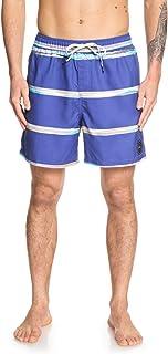 Quiksilver Mens Dunes Stripes Volley 17 Nb Swim Shorts