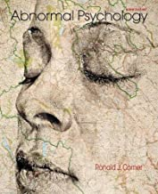 By Ronald J. Comer - Abnormal Psychology (Ninth Edition) (2015-02-28) [Hardcover]