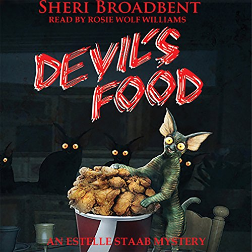 Devil's Food     Estelle Staab Mysteries, Book 2              By:                                                                                                                                 Sheri Broadbent                               Narrated by:                                                                                                                                 Rosie Wolf Williams                      Length: 6 hrs and 46 mins     Not rated yet     Overall 0.0