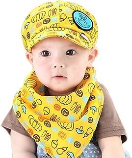 Oyedens cotone per bambini-Cappello neonato motivo cagnolino con cappello da Baseball Bianco nero 36 mesi