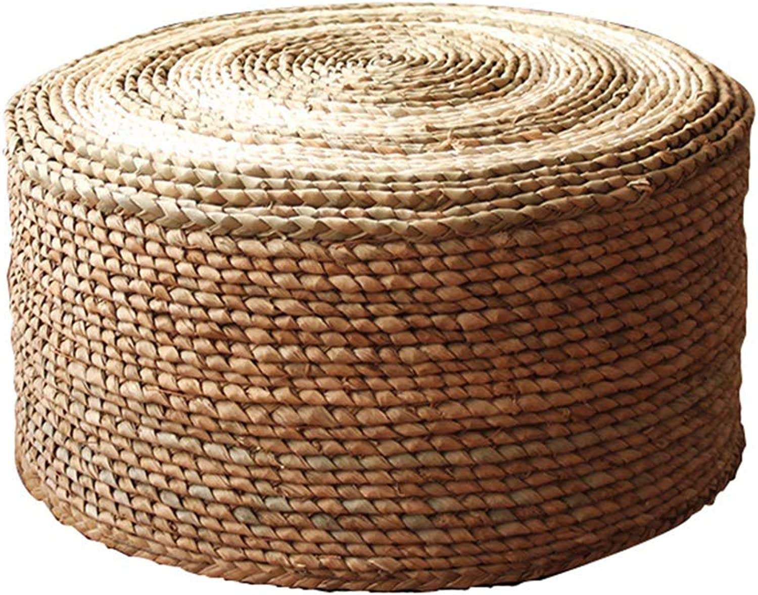 AGLZWY Rattan Stool Sofa Stool Multipurpose Breathable Soft Balcony Living Room Change shoes Bench Make Up Round Coffee Table, Multiple colors (color   A, Size   40X25CM)
