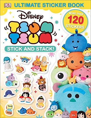 Ultimate Sticker Book: Disney Tsum Tsum Stick and Stack!