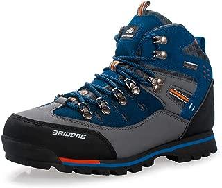 XiaoYouYu Men's Waterproof Boots Hiking Boots