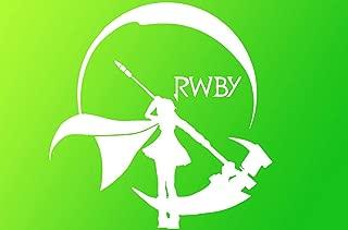 RWBY Anime Vinyl Decal Sticker Funny Manga Gaming Gamer Web Rose