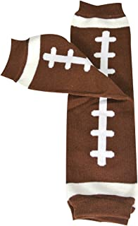 Wrapables Colorful Baby Leg Warmers, football, One Size