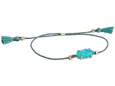 Kendra Scott Everlyne Friendship Bracelet (Gold/Turquoise Opal) Bracelet