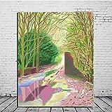 KWzEQ Spring Wall Art Canvas Oil Painting Poster Print Cuadros Modernos para Sala de Estar decoración para el hogar Arte,Pintura sin Marco,40x50cm