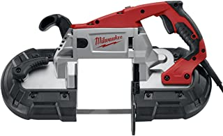 Milwaukee 6238-20 AC/DC Deep Cut Portable Two-Speed Band Saw, Red
