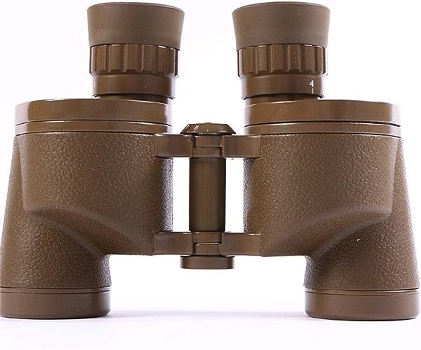 RENMEN Desert Couleur Jumelles 6X30 8X Zoom 30mm Grands Objectifs Télescope Extérieur