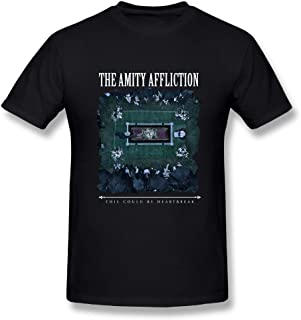 Loyd D Men's Fashion The Amity Affliction This Could Be Heartbreak Tees Black
