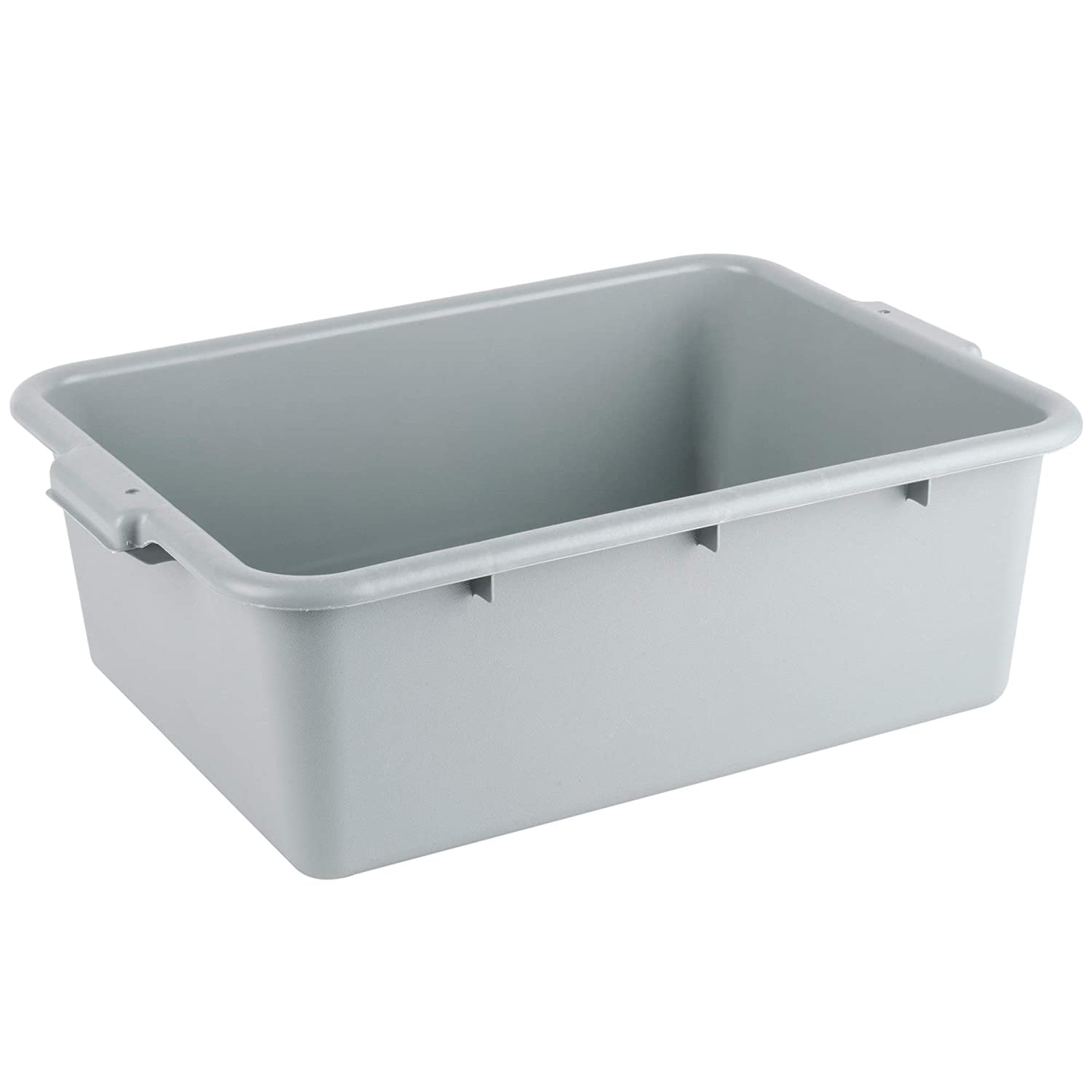 Al sold out. Plastic Bus NEW Tub Gray Commercial S Box Polyethylene
